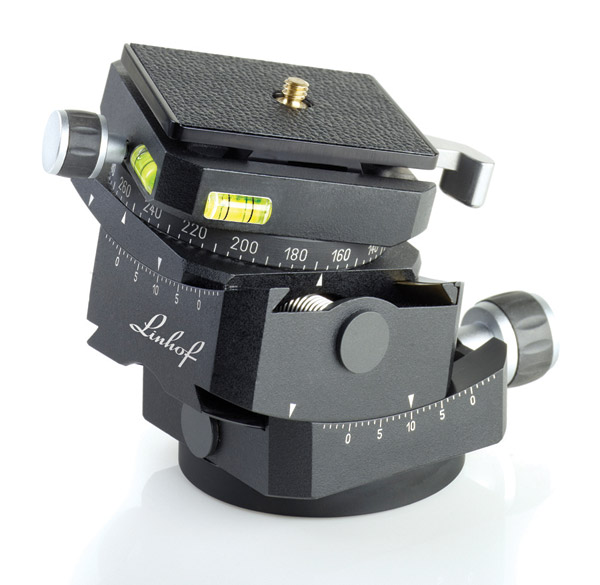 OSN PH-15 Collar Lock Ball Head with Quick Release Plate
