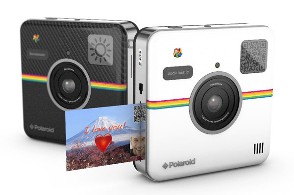 Camera Vintage Android : Polaroid socialmatic shutterbug