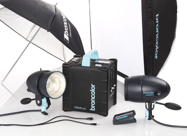 broncolor move 1200 l outdoor kit 2 on the road and on the move