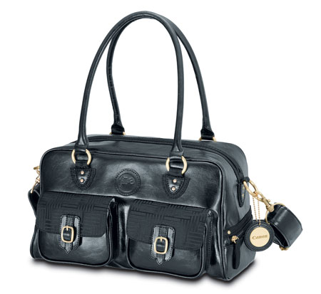 The Result Is New Canon Deluxe Gadget Bag By Jill E Designs Available In Rich Black Faux Leather And Designed Exclusively For A Dslr Photography