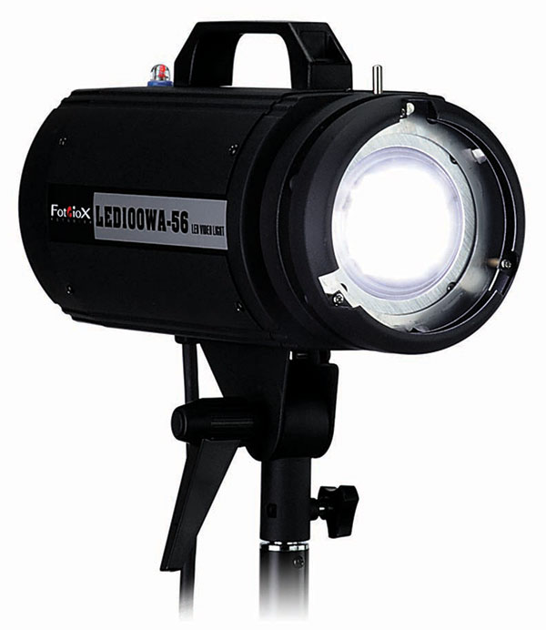 Shooting Studio Portraits with One LED Using Fotodiox's New