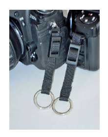 BosStrap BosTail Attaches to Camera Lug Frees Tripod Socket