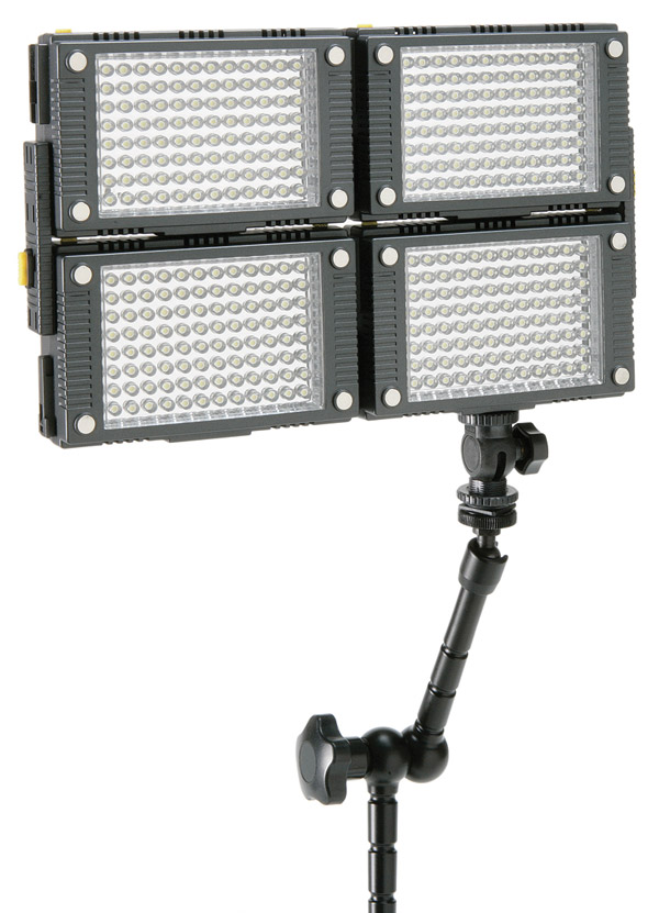 calumet pro series stackable led light panels cold lighting comes into its own