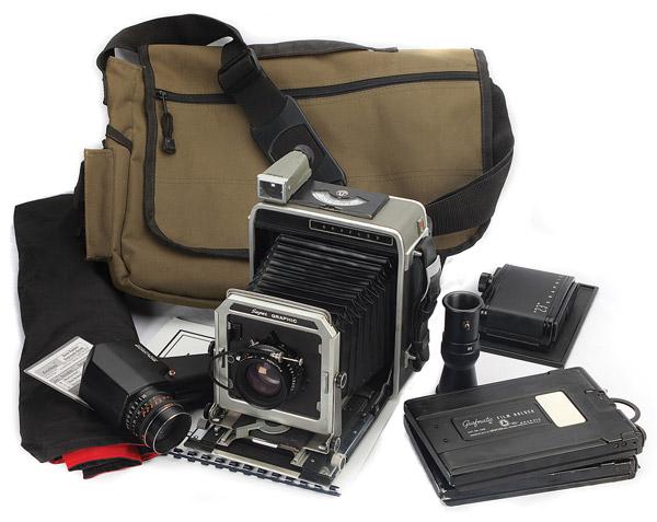 Vintage calumet 4x5 cameras were