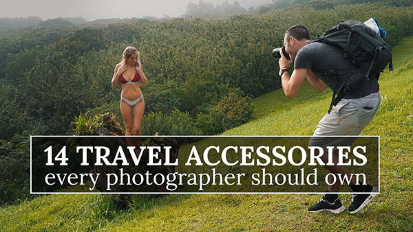 14 Handy Travel Accessories that Every Photographer Should Own (VIDEO)