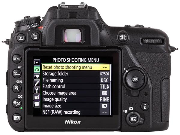 Nikon D7500 DSLR Review | Shutterbug