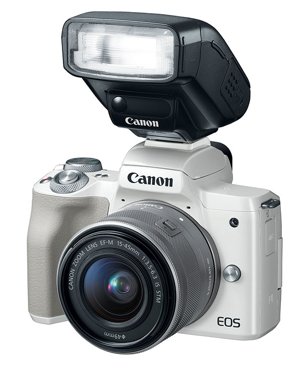 Canon Unveils EOS M50 Mirrorless Camera with 4K Video & Rebel T7