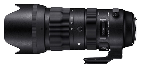 Sigma 70-200mm f/2 8 DG OS HSM Sports Zoom Lens Review