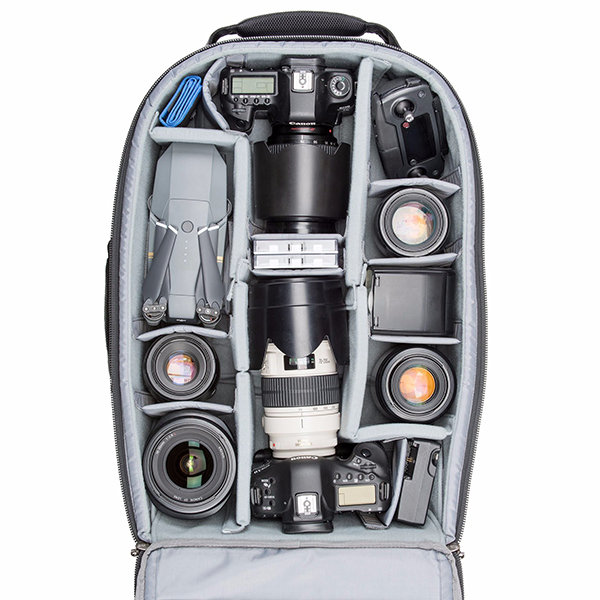 a9af6aaf78ff The Think Tank Airport Advantage Plus fits one gripped DSLR with lens  attached plus one standard-size DSLR with lens attached and between five  and eight ...