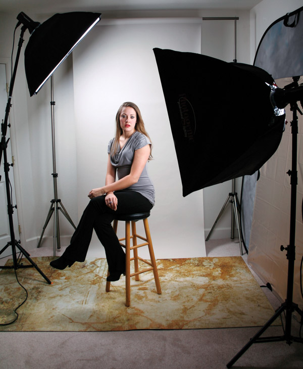 Soft Studio Lighting Kit: Photogenic's StudioMax III Soft Box Portrait Kit: An All
