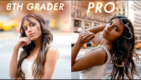 Can an 8th Grader Take Better Photos than a Pro Photographer? Watch This Video & Find Out!