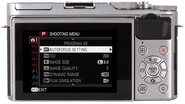 The Large LCD On Back Is Touch Sensitive Tiltable And Works As A Replacement For Traditional Viewfinder It Features 104 Million RGB Dots Modes