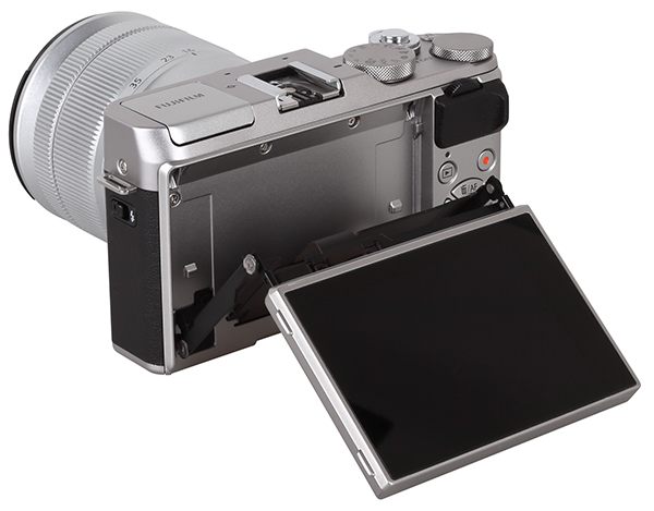 The LCD Screen Is Highly Articulated And Can Be Swiveled For Selfies
