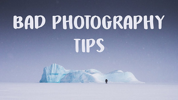 Don't Follow These 9 BAD Photography Tips, According to Photographer James Popsys (VIDEO)