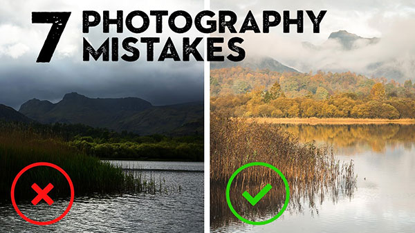 7 Photography Mistakes that Beginners Make All the Time (& How to Easily Avoid Them)