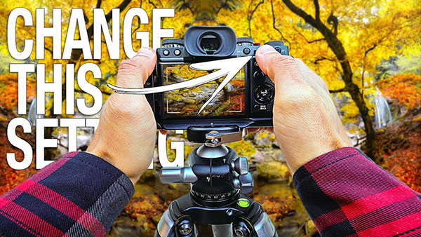 This Is the ONE Camera Setting You Need to CHANGE for Perfectly SHARP Landscape Photos
