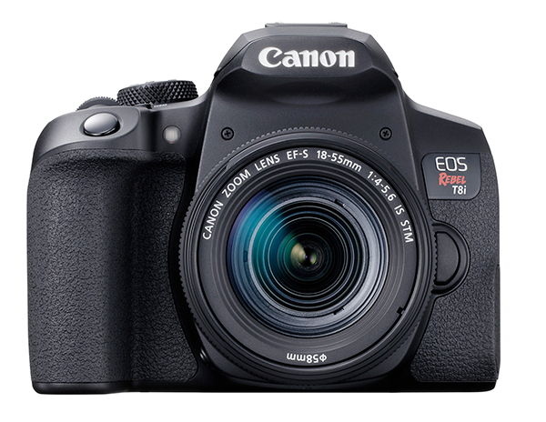 Need a Great Travel Camera? Canon Intros Compact New EOS Rebel T8i DSLR
