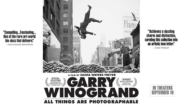 The Trailer for a New Movie About Legendary Street Photographer Garry Winogrand Looks Awesome