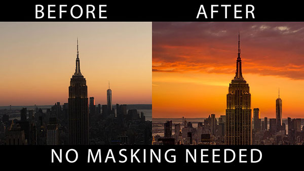 Here's How to Change a Drab Sky in 3 Easy Steps in ANY Version of Photoshop