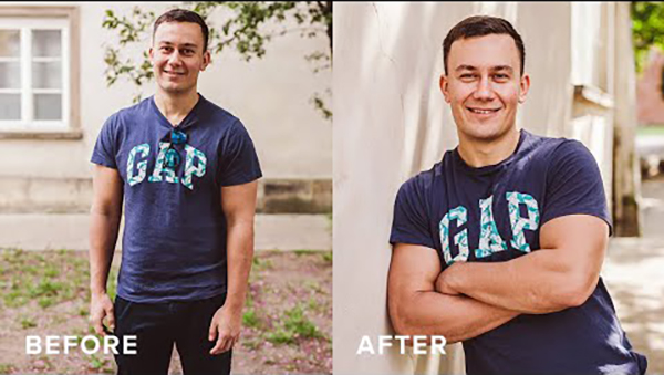 Here's How to Pose Men Who Are NOT Models for More Attractive Portraits (VIDEO)