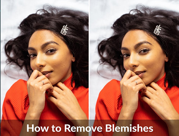 Here's an Easy Way to Remove Blemishes in Portraits with Photoshop (VIDEO)