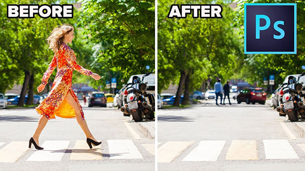 Here's How to Remove a Person from an Image Using Photoshop (VIDEO)