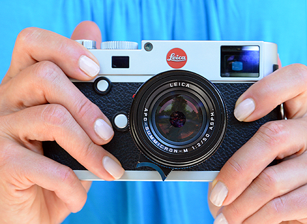 Leica M with 50mm APO Summicron Lens