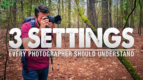 3 Camera Settings You NEED to KNOW for Landscape Photography (VIDEO)