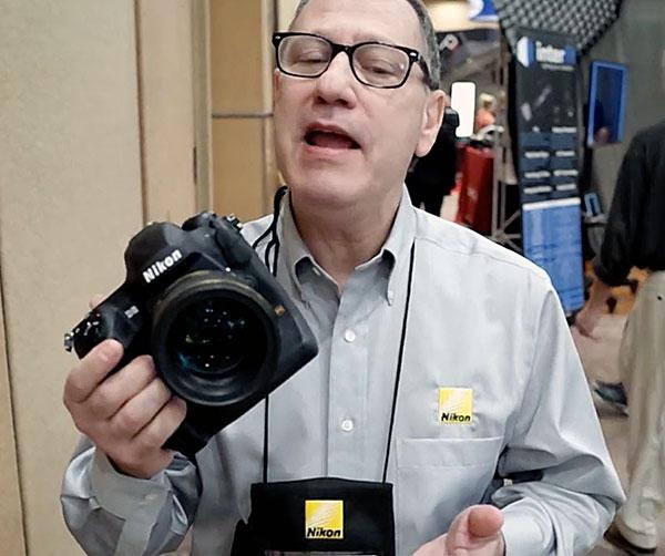 Hands-On with Nikon's Low Light Marvel: the New D5 Full Frame DSLR at WPPI (Short Take Video)