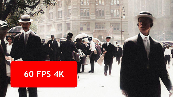 Step into a Time Machine with This Incredible 4K, 60FPS Footage of New York City in 1911