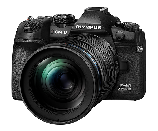 Olympus Launches Tough and Compact New Olympus OM-D E-M1 Mark III Mirrorless Camera