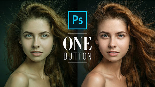 Here's How to Fix Skin Tones in Portraits Using ONE BUTTON in Photoshop (VIDEO)