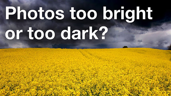Are Your Photos Too Bright or Too Dark? Here's How to Fix That Instantly (VIDEO)