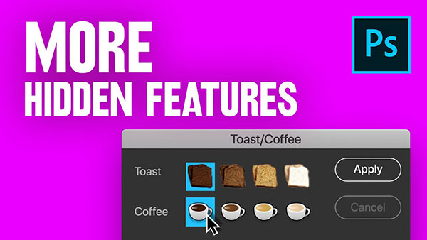25 Hidden Features, Tricks and Hacks in Photoshop (VIDEO)