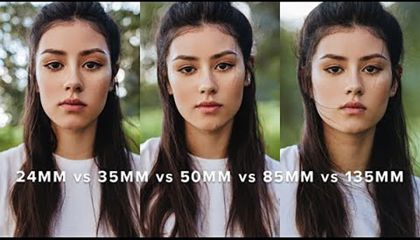 Here's How Portraits Look with a 24mm vs 50mm vs 85mm vs 135mm Lens on a Crop Frame Camera
