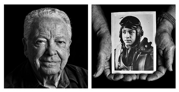 Face to Face: Richard Bell's Powerful Portraits Show World War II Veterans Now and Back Then