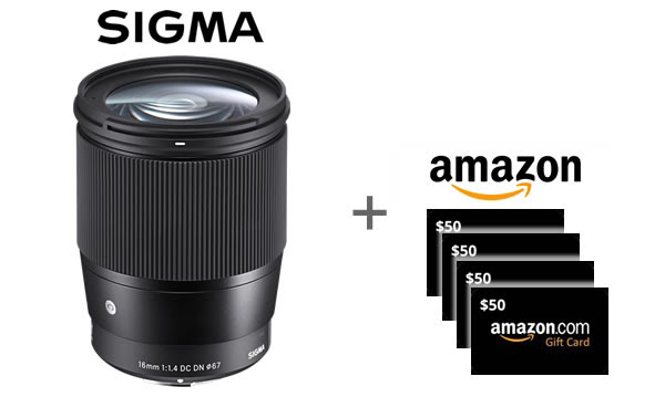 Shutterbug Summertime Sweepstakes Is Here: Enter to Win a Sigma Lens & Amazon Gift Cards!