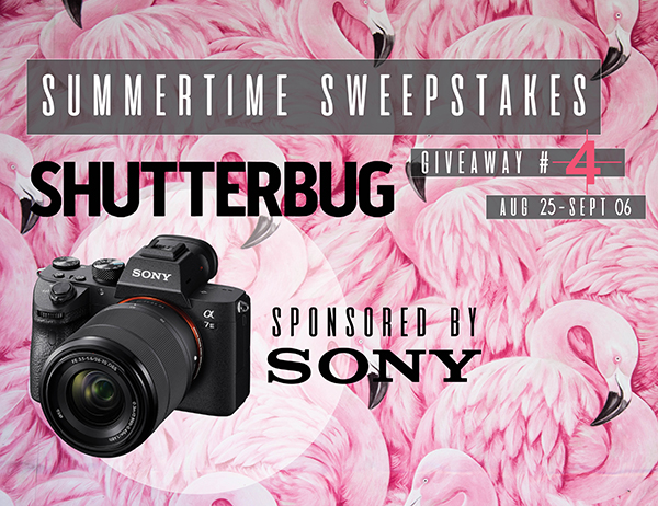 We're Giving Away a Sony A7 III Full Frame Camera & 28-70mm Lens in Our New Sweepstakes!