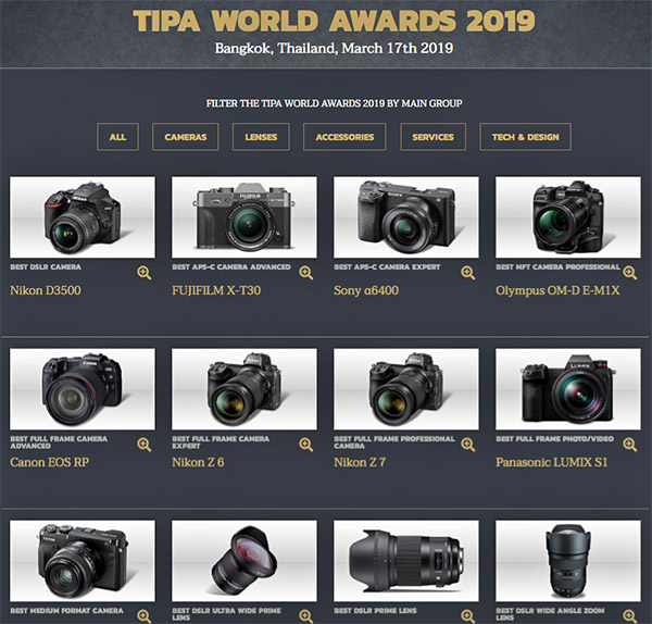 Best Full Frame Dslr 2019 The Best Photo Gear of 2019: TIPA Announces Annual Product Awards