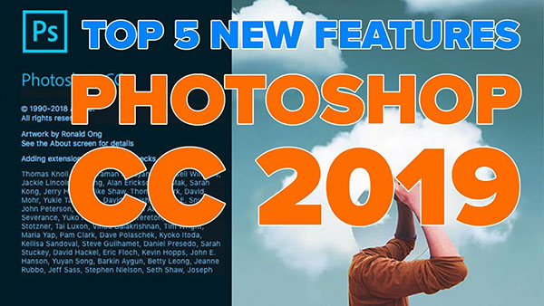 The Top 5 Best New Features in Photoshop CC 2019, According to Colin Smith from photoshopCAFE (VIDEO)
