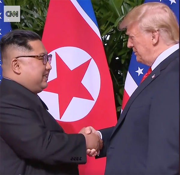 The Trump-Kim Handshake Video Shows Mirrorless Cameras Haven't Caught on With Photojournalists