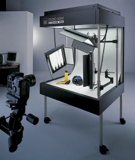 Just Normlicht Studio Light Fluorescent System 5000 Aufnahmetische & Lichtwürfel Fotostudio-zubehör