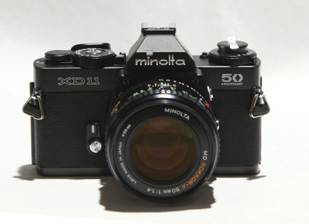 Classic Cameras; Minolta's XD-11; Wait 'Til You See How Good You ...