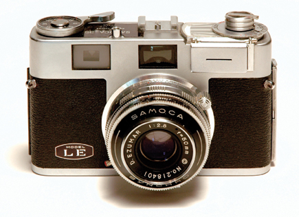 Classic Cameras; Samoca 35 LE; One In A Line From Sanei Sangyo ...