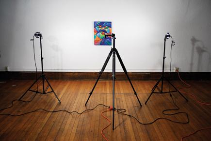 photographing artwork digitally setting shooting and post