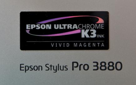 Epson's Stylus Pro 3880