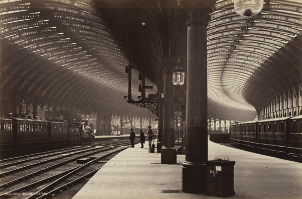 York, Railway Station, After 1871. Princeton University Art Museum, Museum  Purchase, Anonymous Gift. All Photos Supplied By Museum Public Relations.