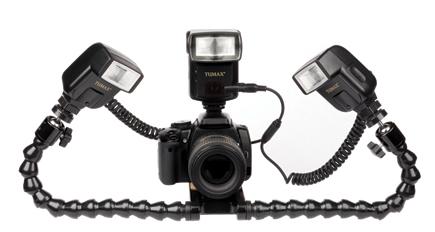 XOTOPRO Photographic Equipment Ltd.u0027s lighting system consists of the QMM1 mounting system and a set of TUMAX macro flash units.  sc 1 st  Shutterbug & XOTOPROu0027s QMM1; When A Ringlight Just Wonu0027t Cut It | Shutterbug azcodes.com