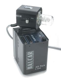 Balcar S Aq Lighting Systeman On Location Battery Powered