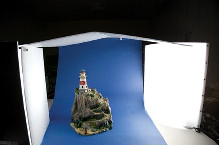 a tabletop lighting system sampler we work with the lowel ego